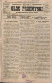 Nowy Głos Przemyski : pismo poświęcone sprawom społecznym, politycznym i ekonomicznym. 1908, R. 6, nr 1-4 (styczeń)