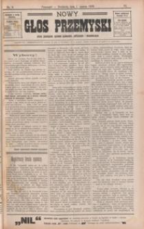 Nowy Głos Przemyski : pismo poświęcone sprawom społecznym, politycznym i ekonomicznym. 1908, R. 6, nr 9-13 (marzec)
