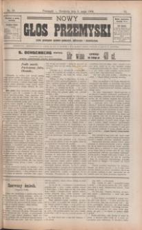 Nowy Głos Przemyski : pismo poświęcone sprawom społecznym, politycznym i ekonomicznym. 1908, R. 6, nr 18-22 (maj)