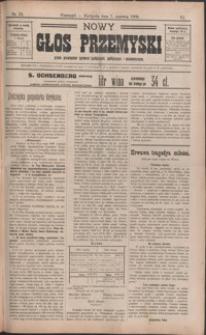 Nowy Głos Przemyski : pismo poświęcone sprawom społecznym, politycznym i ekonomicznym. 1908, R. 6, nr 23-26 (czerwiec)