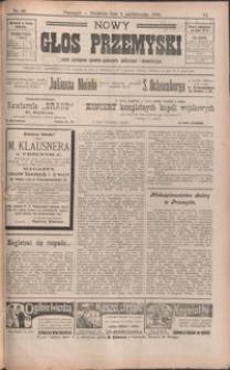 Nowy Głos Przemyski : pismo poświęcone sprawom społecznym, politycznym i ekonomicznym. 1908, R. 6, nr 40-43 (październik)
