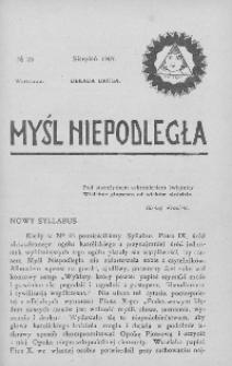 Myśl Niepodległa 1907 nr 35
