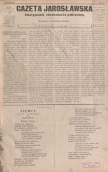 Gazeta Jarosławska : dwutygodnik ekonomiczno-polityczny. 1892, R. 2, nr 6-29