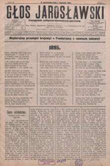 Głos Jarosławski : dwutygodnik polityczno-ekonomiczno-społeczny. 1895, R. 3, nr 1-7
