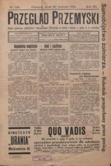 Przegląd Przemyski : pismo społeczne, polityczne i ekonomiczne. 1913, R. 3, nr 129-130