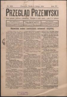 Przegląd Przemyski : pismo społeczne, polityczne i ekonomiczne. 1914, R. 4, nr 209-216 (luty)