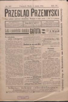 Przegląd Przemyski : pismo społeczne, polityczne i ekonomiczne. 1914, R. 4, nr 217-224 (marzec)