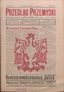 Przegląd Przemyski : pismo społeczne, polityczne i ekonomiczne. 1914, R. 4, nr 234-242 (maj)