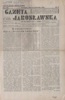 Gazeta Jarosławska. 1934, R. 3, nr 8, 25