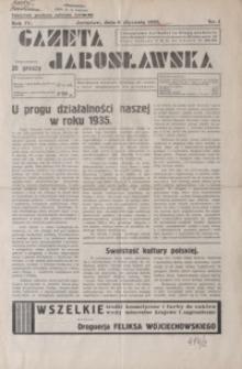 Gazeta Jarosławska. 1935, R. 4, nr 1-22, 24