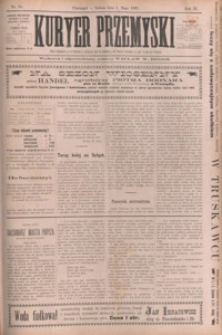 Kuryer Przemyski. 1897, R. 3, nr 34-42 (maj)