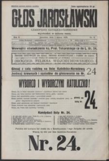 Głos Jarosławski : czasopismo katolicko-narodowe. 1928, R. 2, nr 9-13 (marzec)