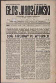 Głos Jarosławski : czasopismo katolicko-narodowe. 1928, R. 2, nr 18, 20-21 (maj)