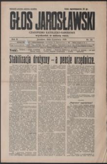 Głos Jarosławski : czasopismo katolicko-narodowe. 1928, R. 2, nr 22-26 (czerwiec)