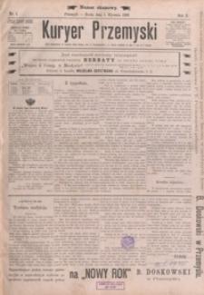 Kuryer Przemyski. 1896, R. 2, nr 1-9 (styczeń)