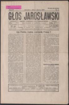 Głos Jarosławski : organ Stronnictwa Narodowego. 1930, R. 4, nr 9-13 (marzec)