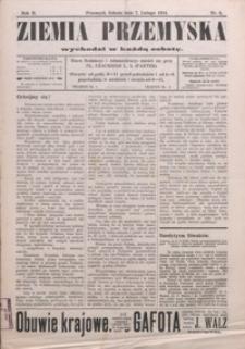 Ziemia Przemyska. 1914, R. 2, nr 6-9 (luty)