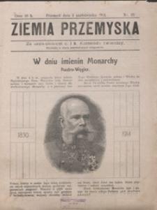 Ziemia Przemyska. 1914, R. 2, nr 32-44 (październik)