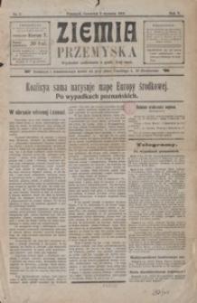 Ziemia Przemyska. 1919, R. 5, nr 2-3, 5-6, 9-11, 13, 15, 18-22, 24, 26 (styczeń)