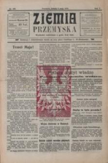Ziemia Przemyska. 1919, R. 5, nr 102, 104-105, 107, 110, 116-118 (maj)