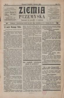 Ziemia Przemyska. 1920, R. 6, nr 1, 3-6, 9-25