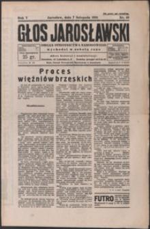 Głos Jarosławski : organ Stronnictwa Narodowego. 1931, R. 5, nr 45-48 (listopad)