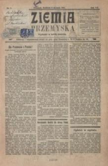 Ziemia Przemyska. 1921, R. 7, nr 1-5 (styczeń)