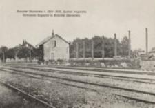Rzeszów Staroniwa r. 1914-1915. Spalone magazyny = Verbrannte Magazine in Rzeszów Staroniwa [Pocztówka]