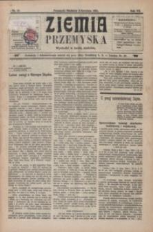 Ziemia Przemyska. 1921, R. 7, nr 14-17 (kwiecień)