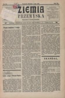 Ziemia Przemyska. 1921, R. 7, nr 18-22 (maj)