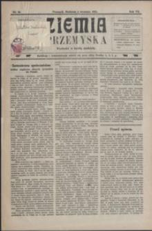 Ziemia Przemyska. 1921, R. 7, nr 36-39 (wrzesień)