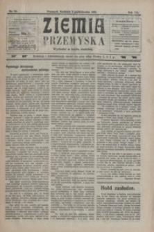 Ziemia Przemyska. 1921, R. 7, nr 40-44 (październik)