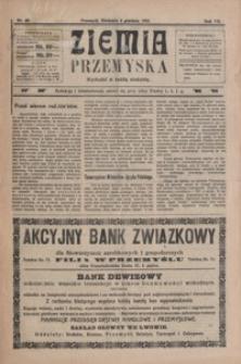 Ziemia Przemyska. 1921, R. 7, nr 49-52 (grudzień)