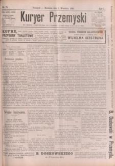 Kuryer Przemyski. 1895, R. 1, nr 78-87 (wrzesień)