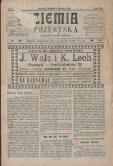 Ziemia Przemyska. 1922, R. 8, nr 1-5 (styczeń)