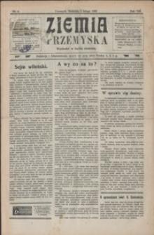 Ziemia Przemyska. 1922, R. 8, nr 6-9 (luty)