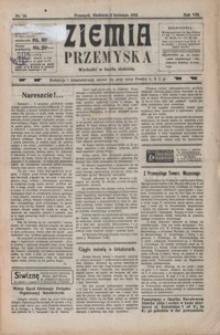 Ziemia Przemyska. 1922, R. 8, nr 14-18 (kwiecień)