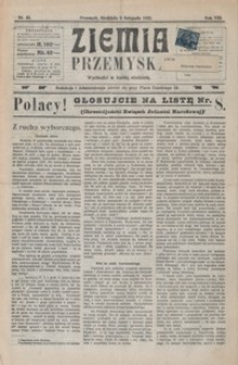 Ziemia Przemyska. 1922, R. 8, nr 45-48 (listopad)