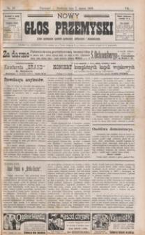 Nowy Głos Przemyski : pismo poświęcone sprawom społecznym, politycznym i ekonomicznym. 1909, R. 8, nr 10, 12-13 (marzec)