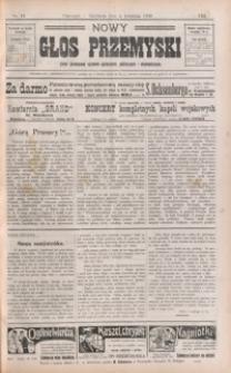 Nowy Głos Przemyski : pismo poświęcone sprawom społecznym, politycznym i ekonomicznym. 1909, R. 8, nr 14, 17 (kwiecień)