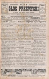 Nowy Głos Przemyski : pismo poświęcone sprawom społecznym, politycznym i ekonomicznym. 1909, R. 8, nr 19 (maj)