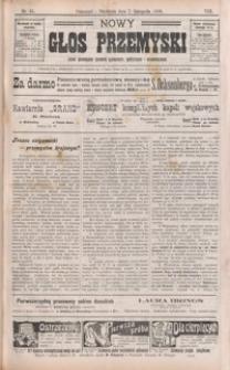 Nowy Głos Przemyski : pismo poświęcone sprawom społecznym, politycznym i ekonomicznym. 1909, R. 8, nr 45-48 (listopad)