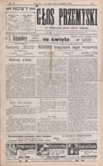 Nowy Głos Przemyski : pismo poświęcone sprawom społecznym, politycznym i ekonomicznym. 1909, R. 8, nr 49-52 (grudzień)