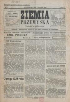 Ziemia Przemyska. 1924, R. 10, nr 1-4 (styczeń)