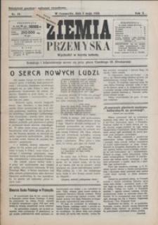 Ziemia Przemyska. 1924, R. 10, nr 18-22 (maj)