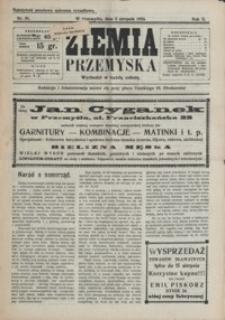 Ziemia Przemyska. 1924, R. 10, nr 31-35 (sierpień)