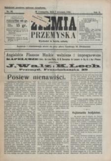 Ziemia Przemyska. 1924, R. 10, nr 36-38 (wrzesień)