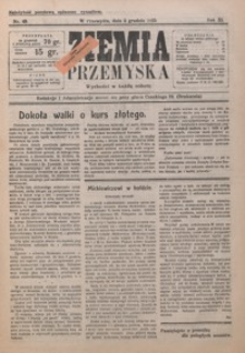 Ziemia Przemyska. 1925, R. 11, nr 49-52 (grudzień)