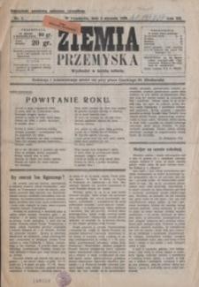 Ziemia Przemyska. 1926, R. 12, nr 1-5 (styczeń)