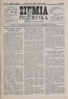 Ziemia Przemyska. 1926, R. 12, nr 32-35 (sierpień)